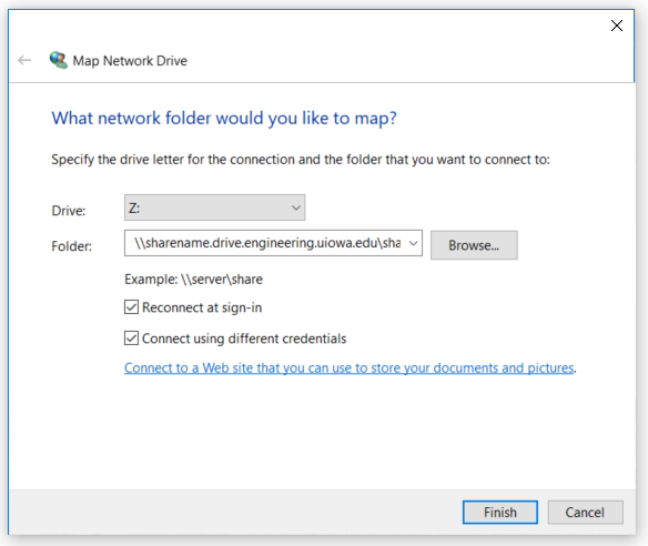 Windows Drive Mapping Image 1