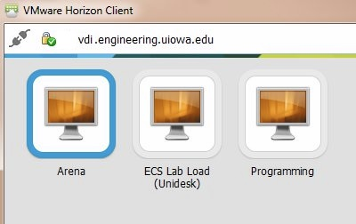 VDI load choices